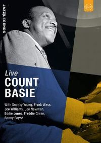 Cover Count Basie - Live [DVD]